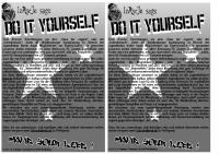 Selbstdarstellung-Flyer